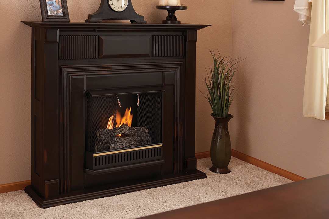 Ventless Gas Fireplace Propane
