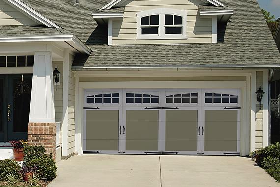 Craftsman Inspired Garage Door