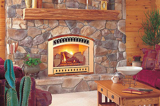 Gas Fireplace Inserts Pros And Cons Of Ventless Gas Fireplaces