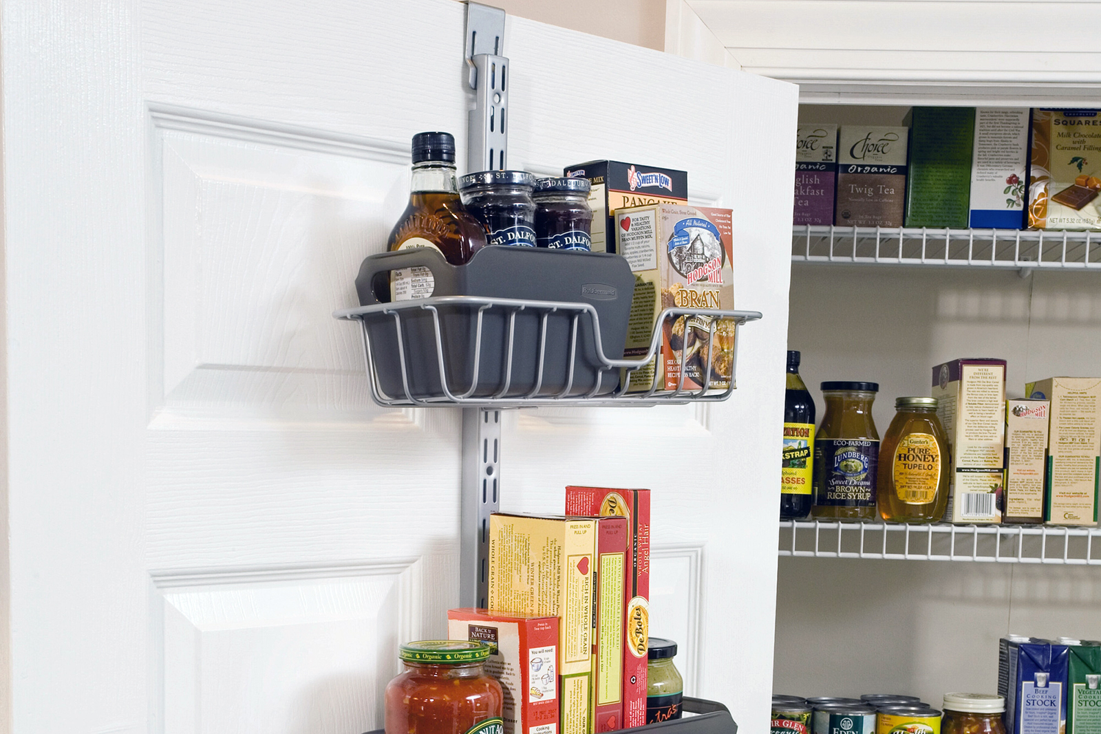 Over-the-door home kitchen storage