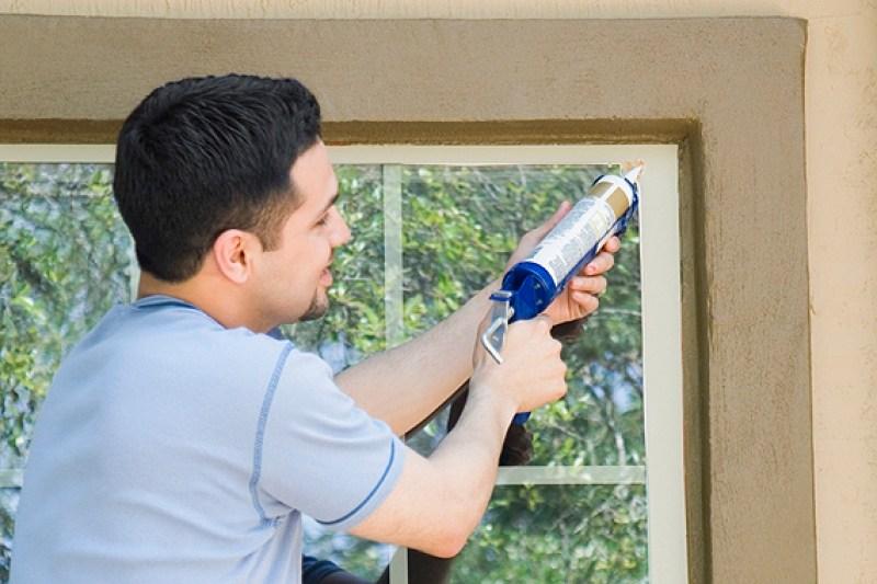 Fix Air Leaks Around Windows Stopping Door
