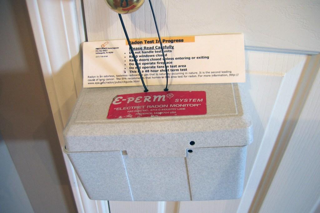 professional radon testing