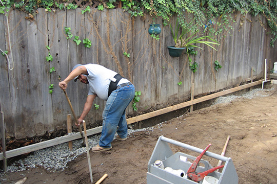 How To Install A French Drain French Drain Installation