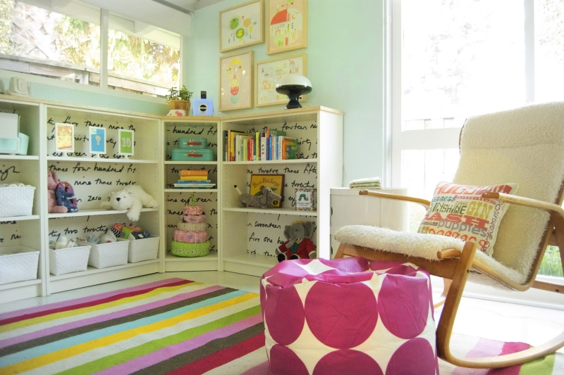 Corner Cubby Storage | Kids Rooms Storage Ideas
