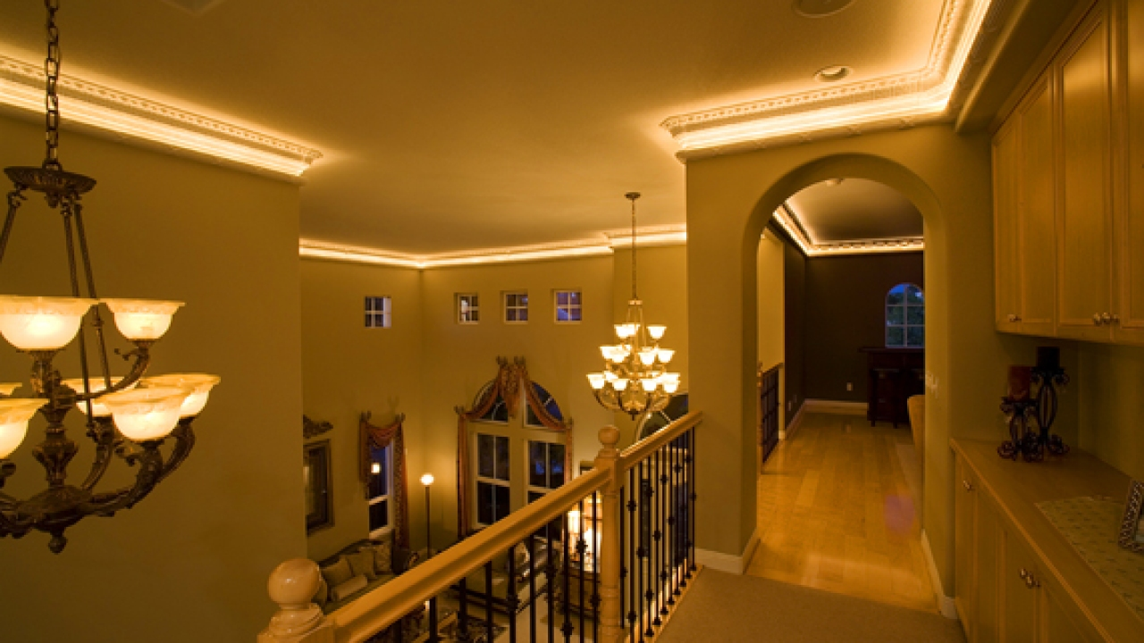 Lighted Crown Moulding Molding