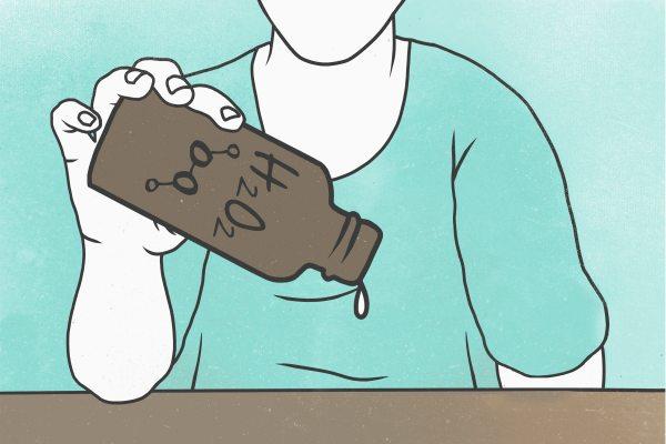 Hydrogen peroxide bottle