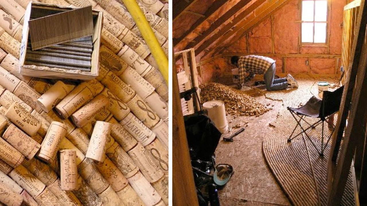 Diy Wine Cork Floor Flooring Ideas