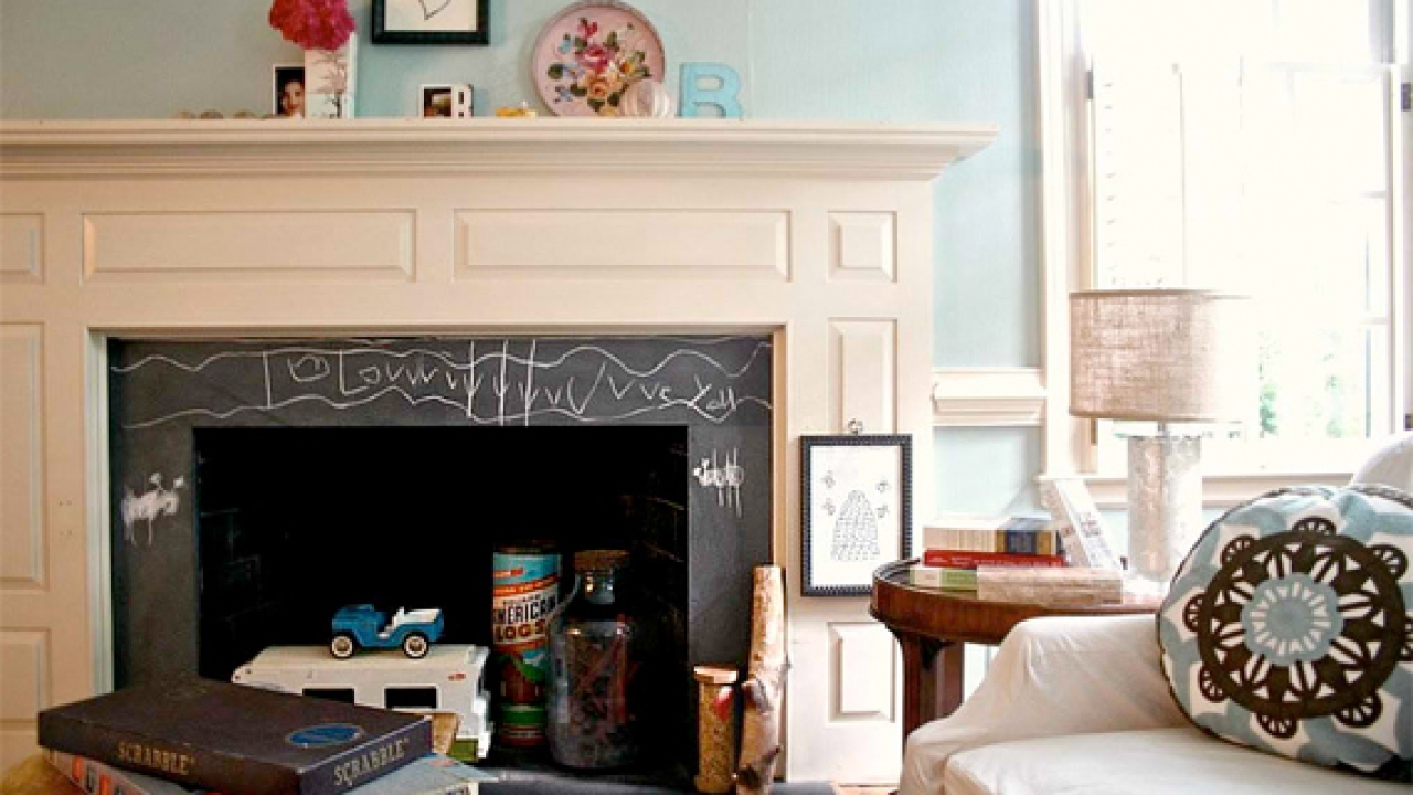 Fireplace Pictures Remodel Your Slate Chalk