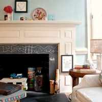 Fireplace Pictures | Remodel Your Fireplace | Slate Chalk