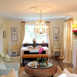 Ceiling Medallion In Living Room Remodeling Ideas