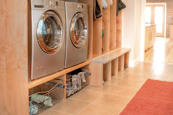 Organized Laundry Room | Laundry Room Design