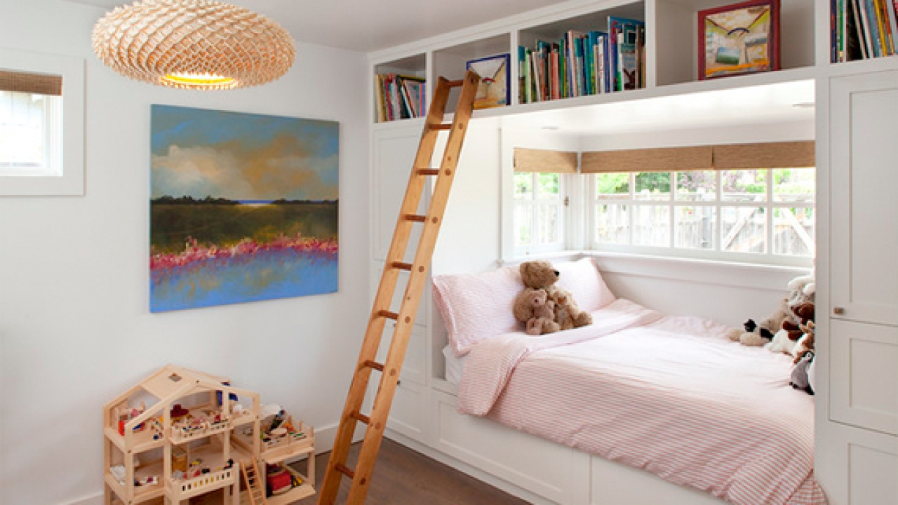 Kid S Bed In A Window Alcove Seat Ideas