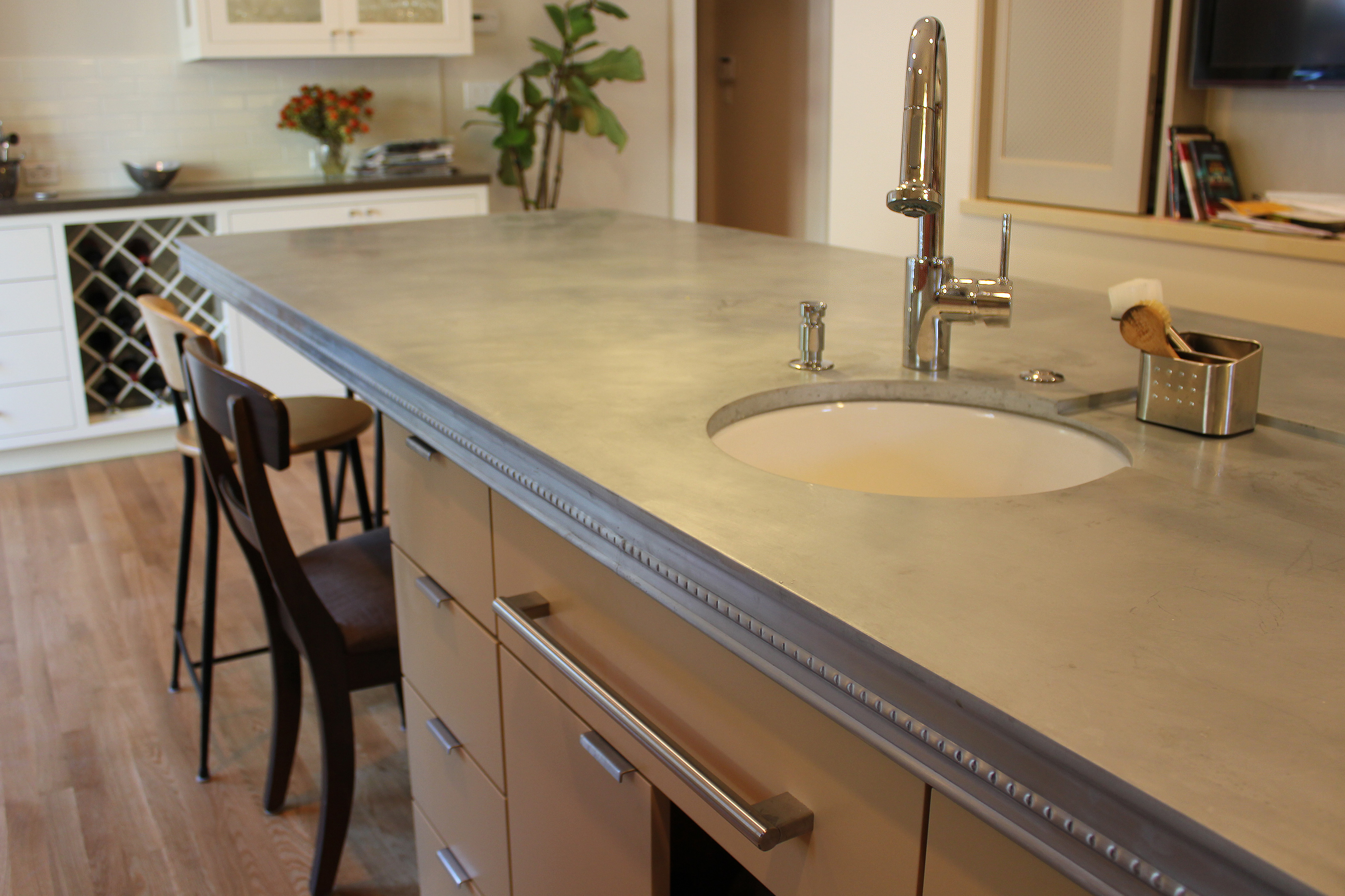 Zinc Countertops: Pros and Cons | Zinc Countertop Cost