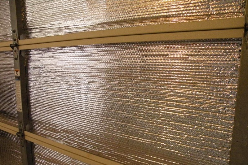 Garage insulation   Insulated garage door