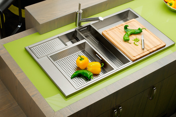 Kitchen Sink Pictures | Types of Kitchen Sinks | Kitchen ...