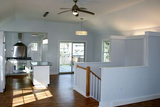 Kitchen bungalow after