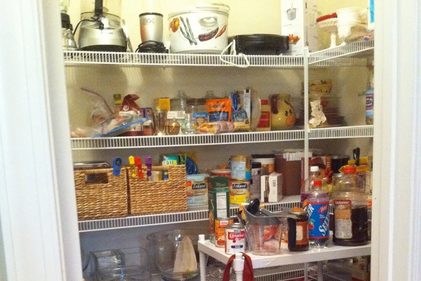 Honey + Fitz's before and after pantry makeover