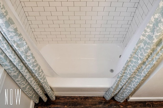 Shauna Mailloux's refinished alcove bathtub