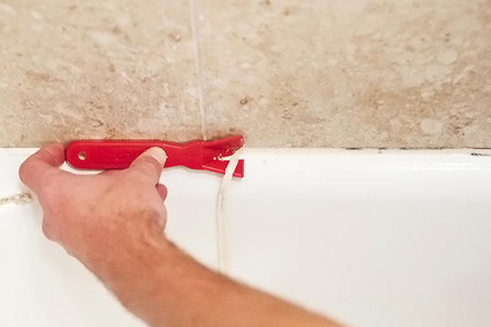 How to remove old caulk | Caulk removal tool