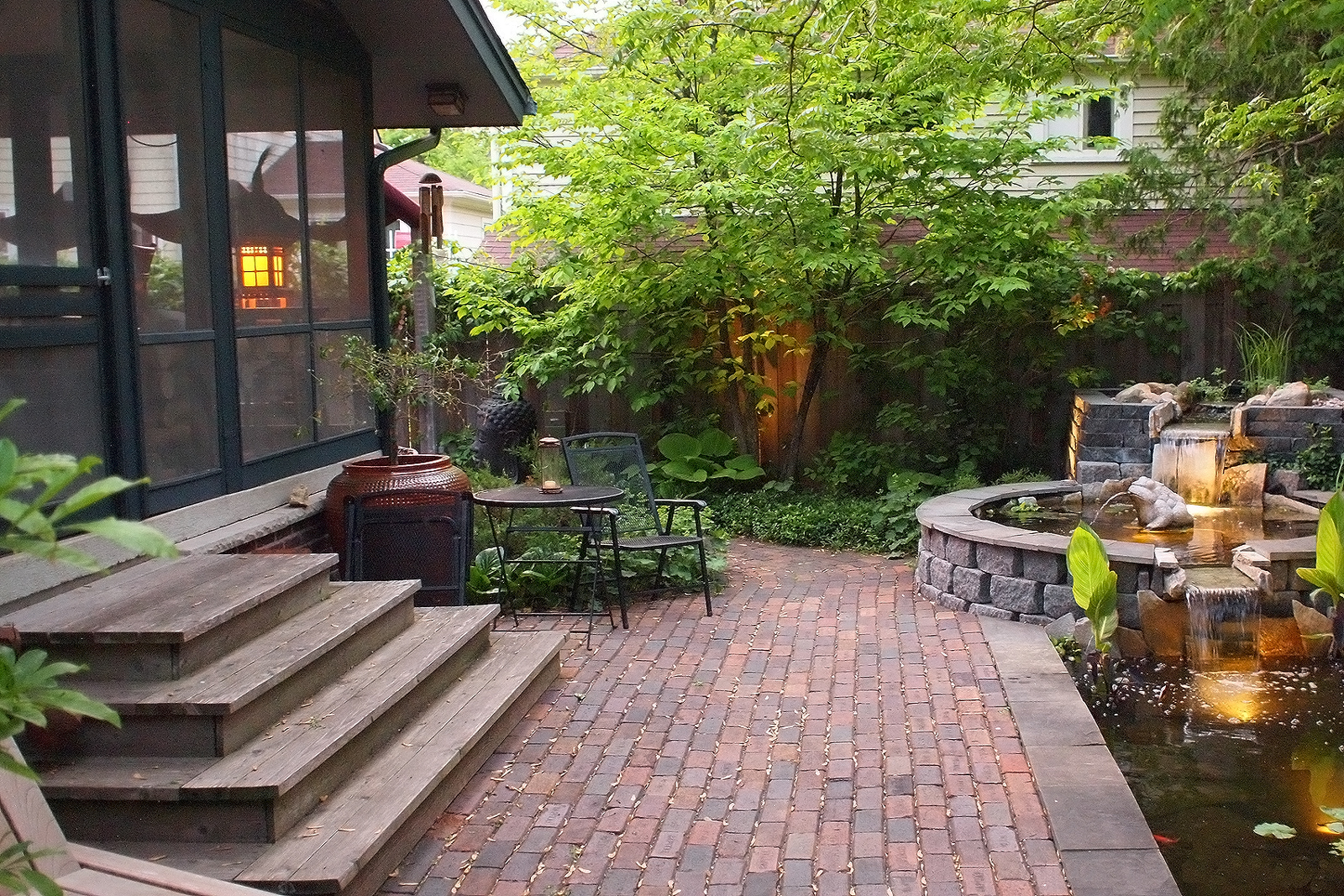 Paver Patio Ideas | Stone Patio Ideas | HouseLogic on Small Backyard Brick Patio Ideas id=48507