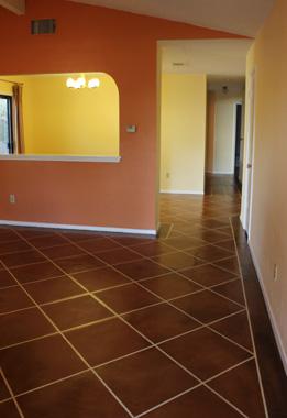Eco Friendly Concrete Floor Painted Floors