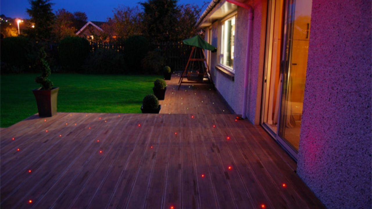 Deck Lighting Ideas Railing Lights Houselogic
