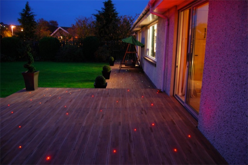 Fiber Optic Outdoor Lights | Deck Lighting Ideas