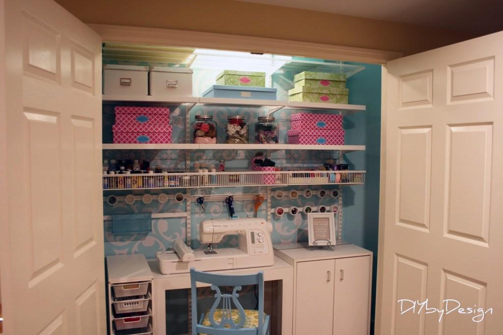 Blogger DIY closet conversion projects