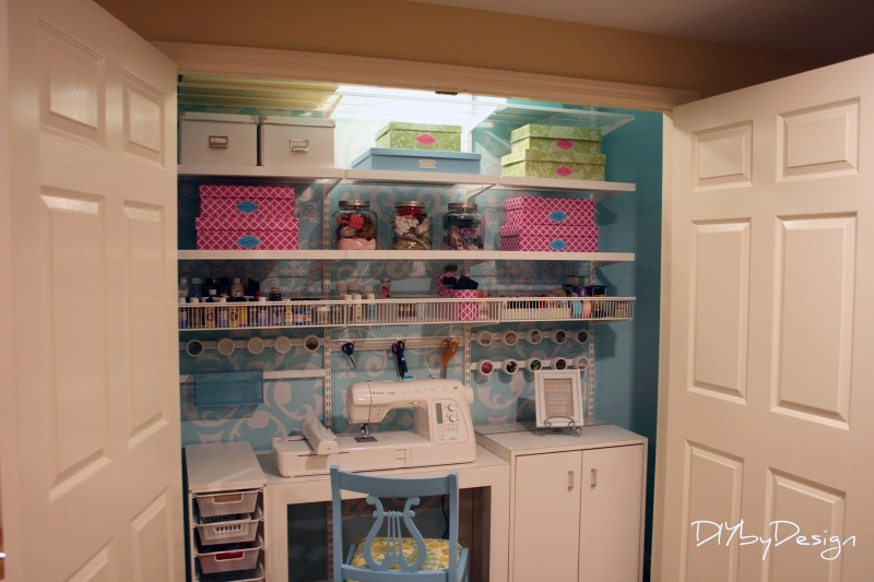 Blogger DIY closet conversion projects