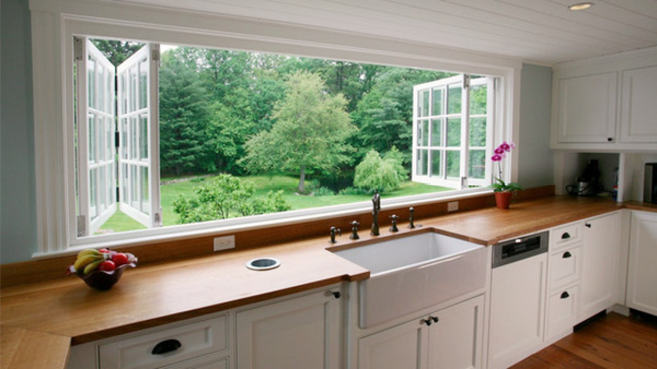 Bifold Windows In A Kitchen Window Types Pros And Cons