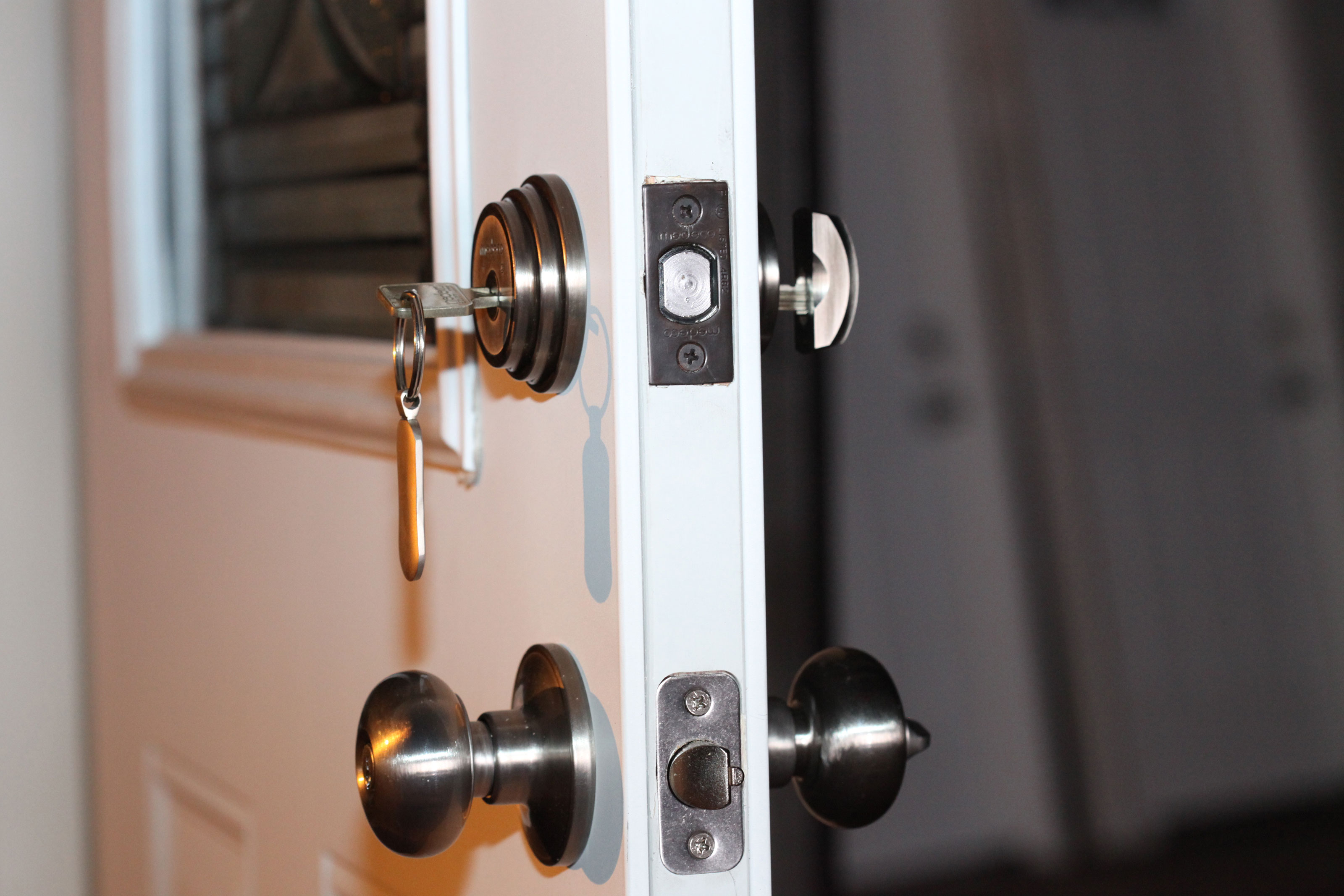 This door lock is top-rated for safety