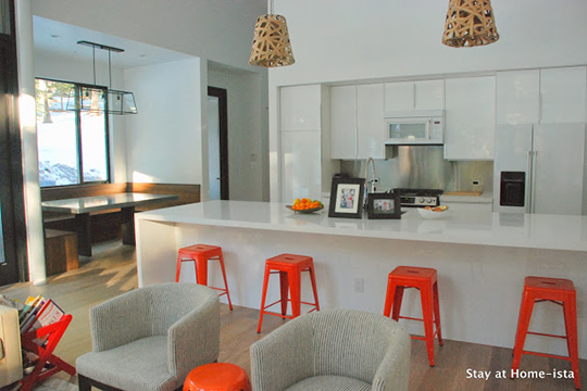 Light-filled open kitchen design