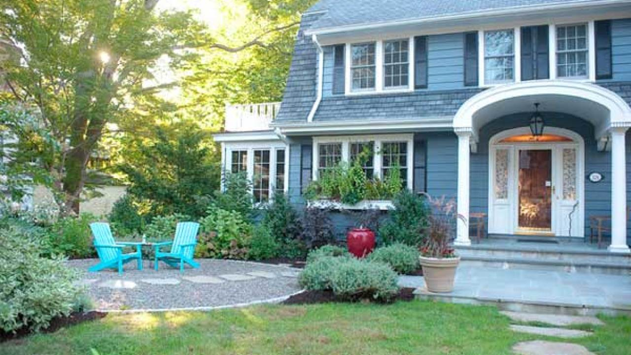 Front Yard Patio Ideas Small