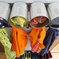 DIY Front Entrance Home Organization | Mudroom Ideas DIY