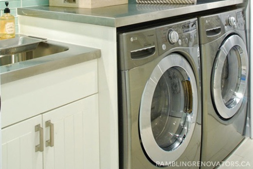 Front-loading washer and dryer maintenance