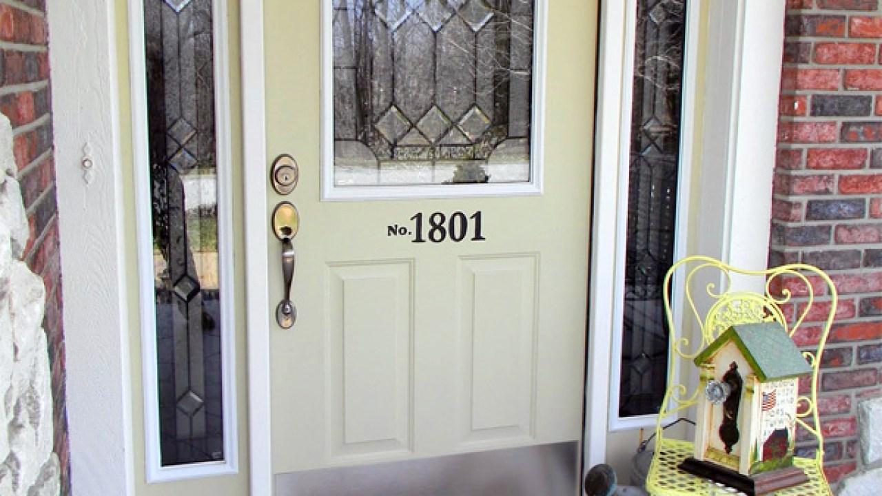 New Steel Entry Door Value Of Home Improvements