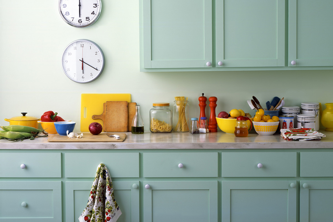 Kitchen painted green | Kitchen Color Schemes