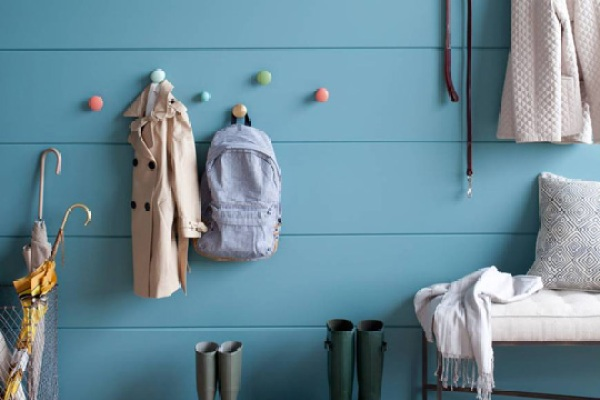 Coat Hooks and Boot Storage   Home Organization Tips
