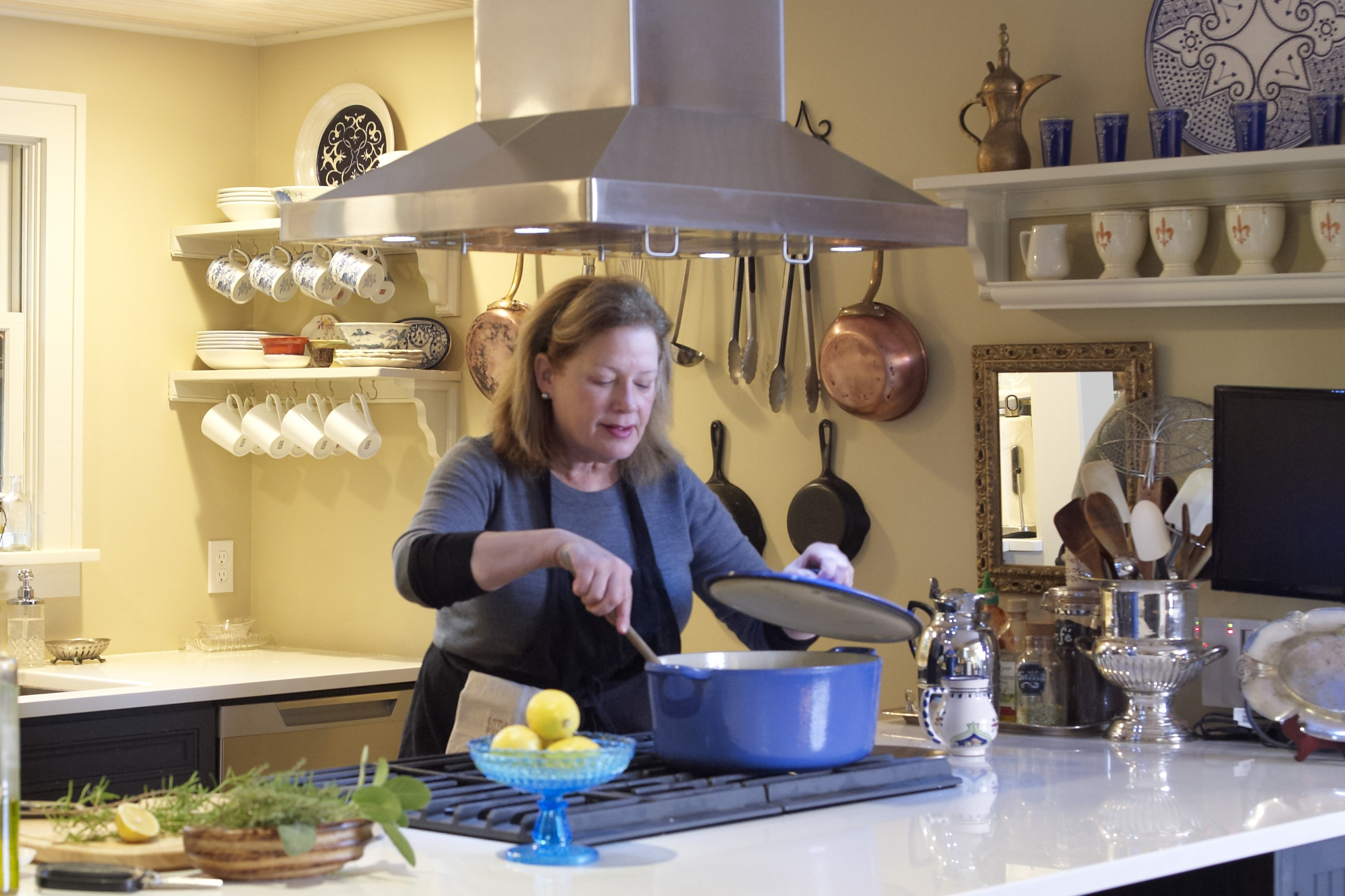 Chef Alysa Plummer's home kitchen