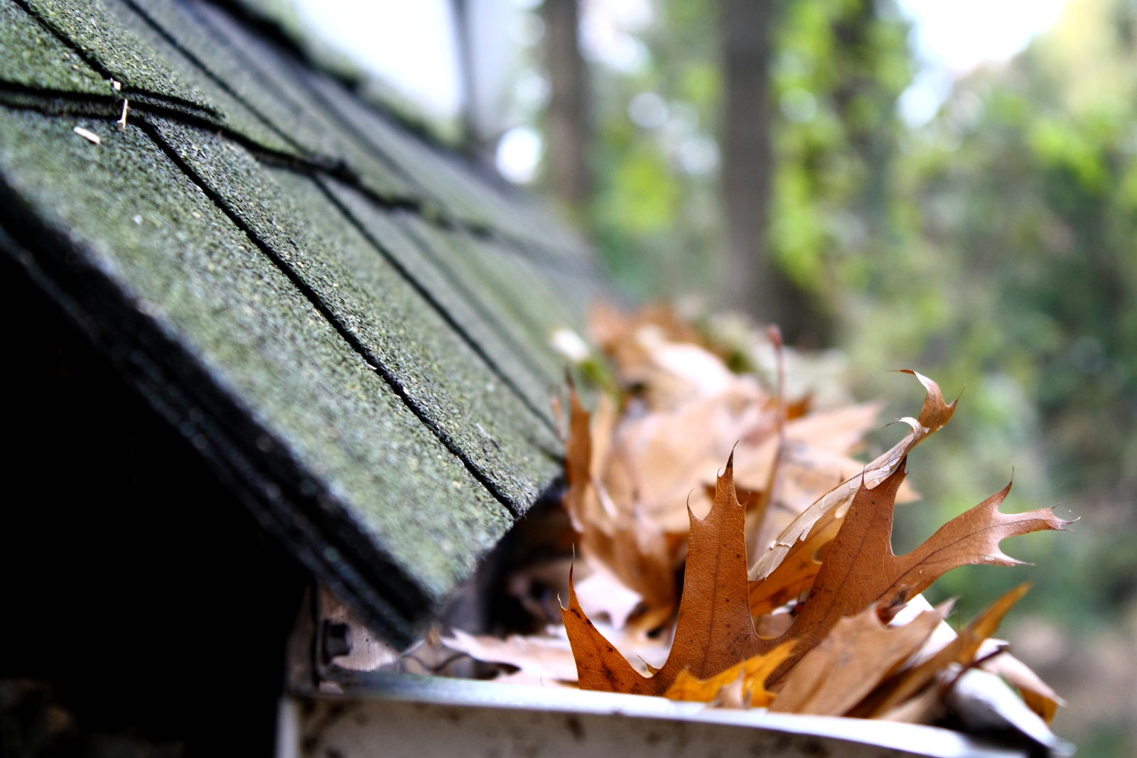 How To Unclog And Clean Roof Gutters Drains And Gutters