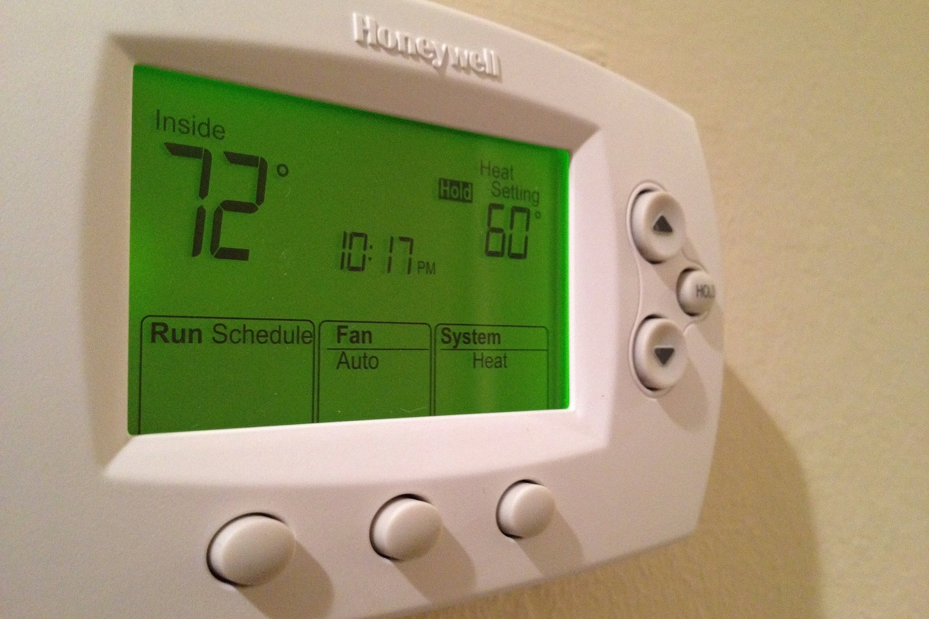turn off programmable thermostat