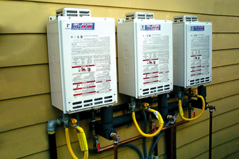 Electric Tankless Water Heater On