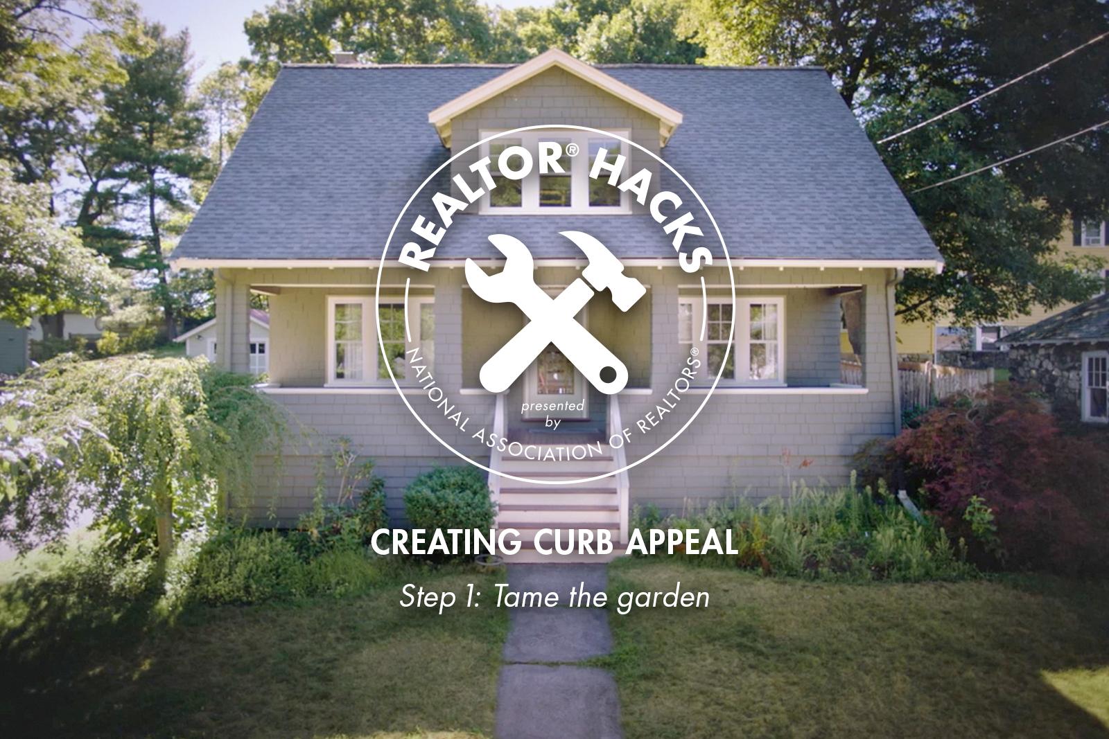 Realtor® Hacks: Creating Curb Appeal, Step 1