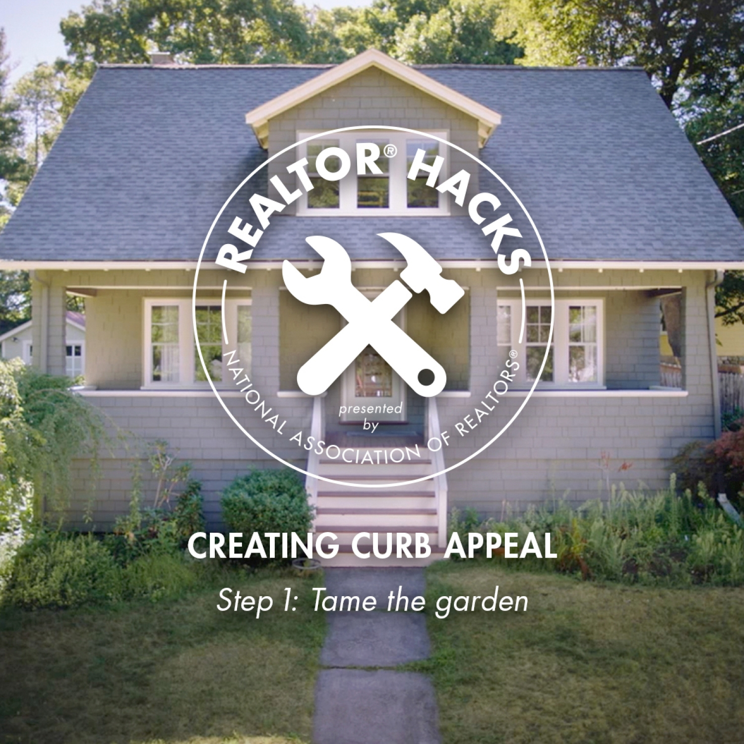 Realtor® Hacks: Creating Curb Appeal, Step 1