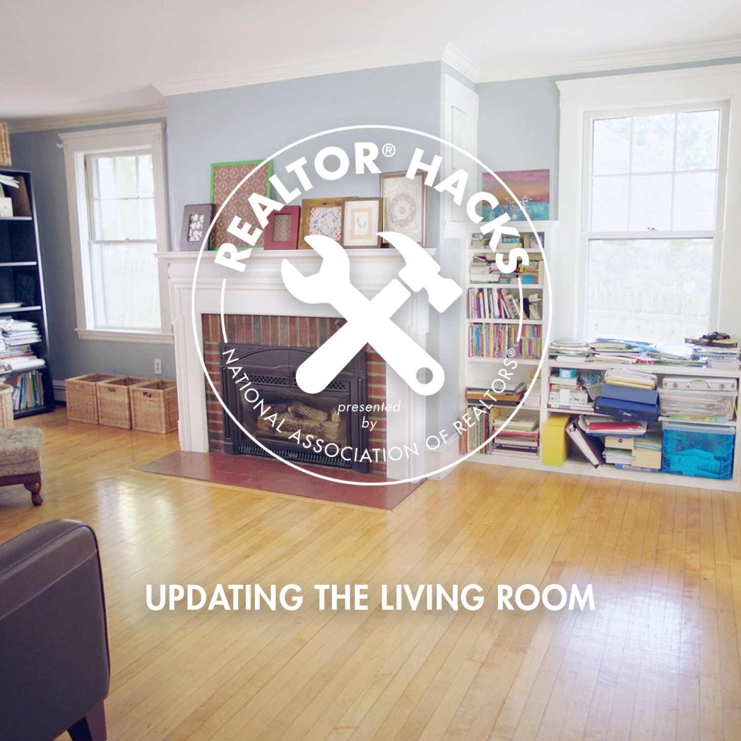 Realtor® Hacks: Updating the Living Room