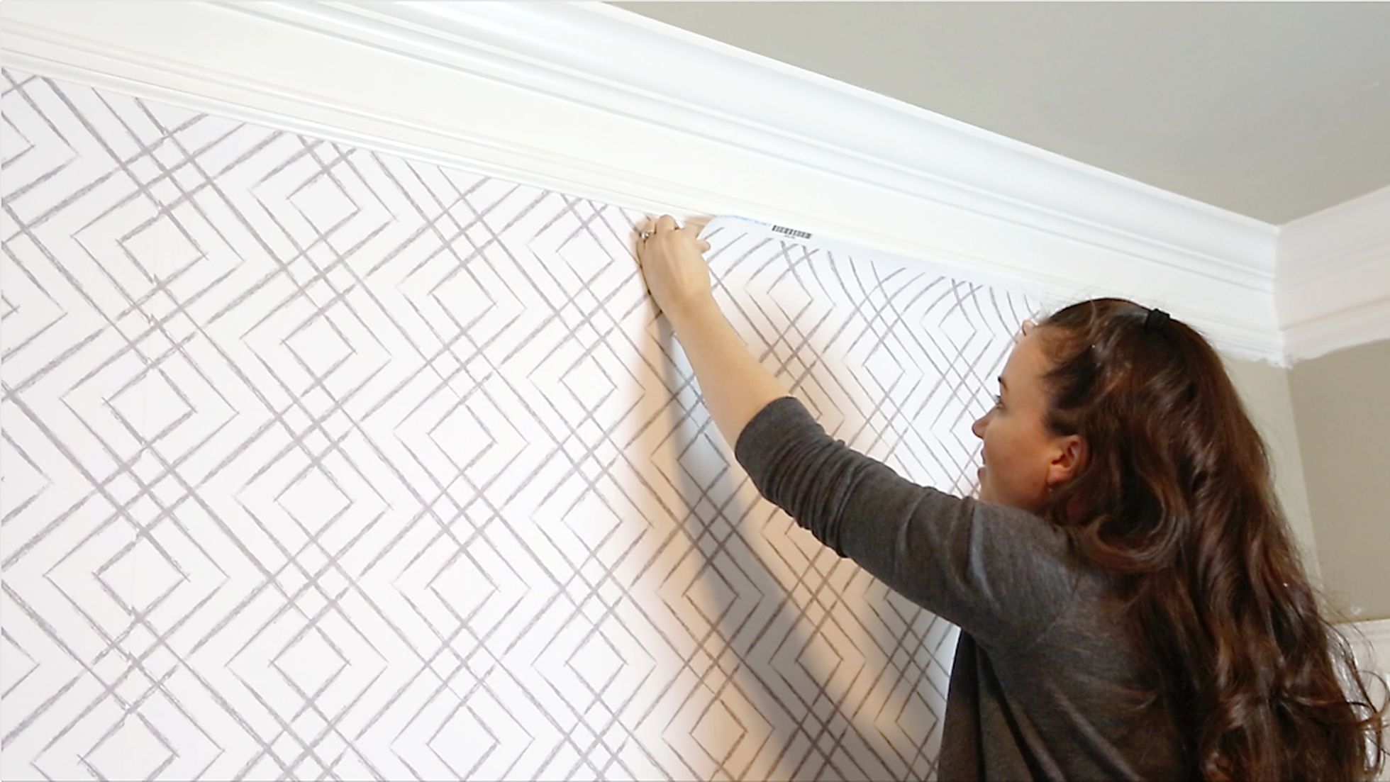 How To Install Peel And Stick Wallpaper Houselogic
