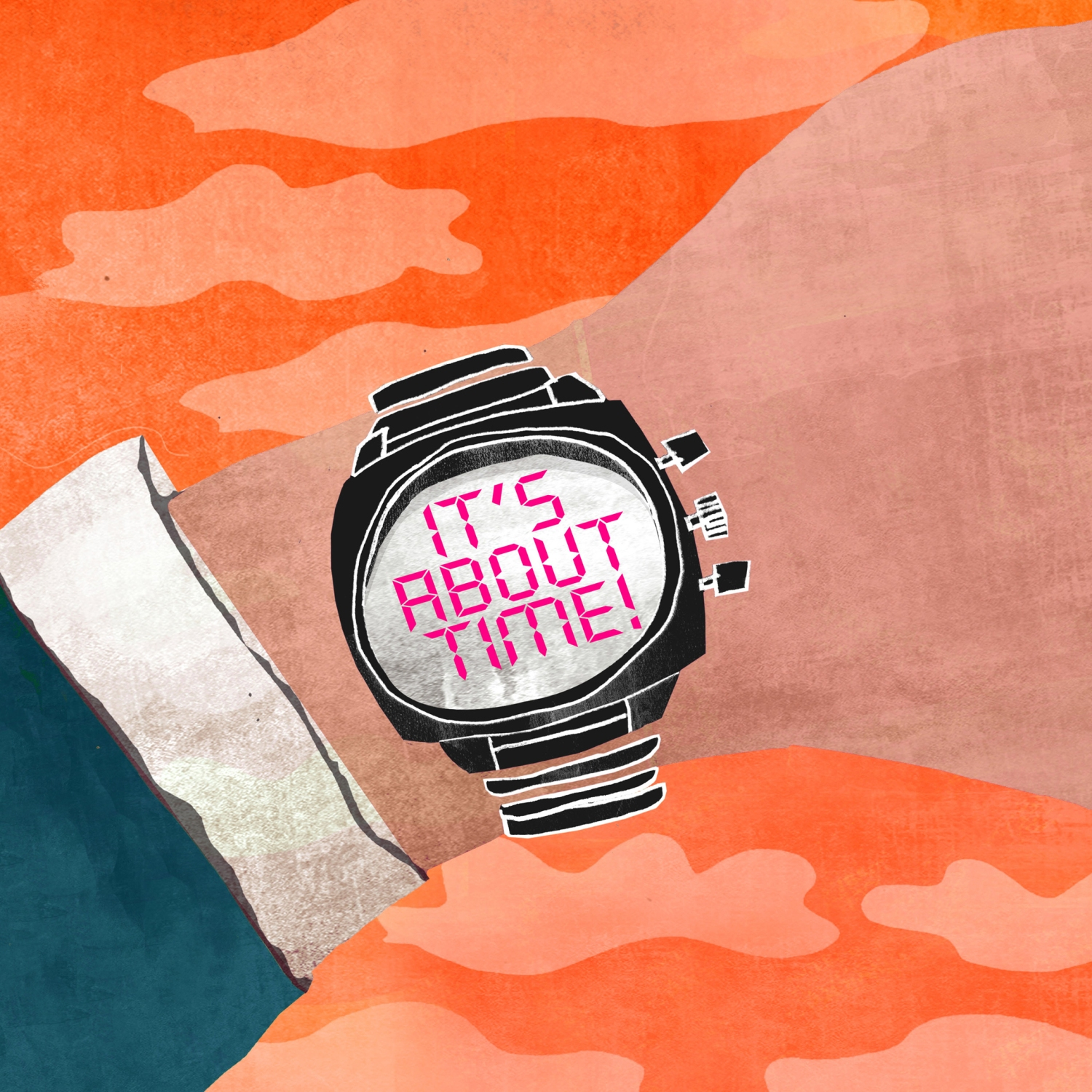 Do This Now - illustration with watch
