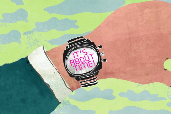 Illustration of watch