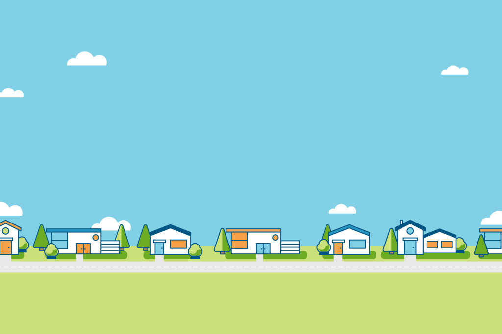 Infographic illustration first time homebuying tips