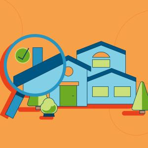Home inspection illustration